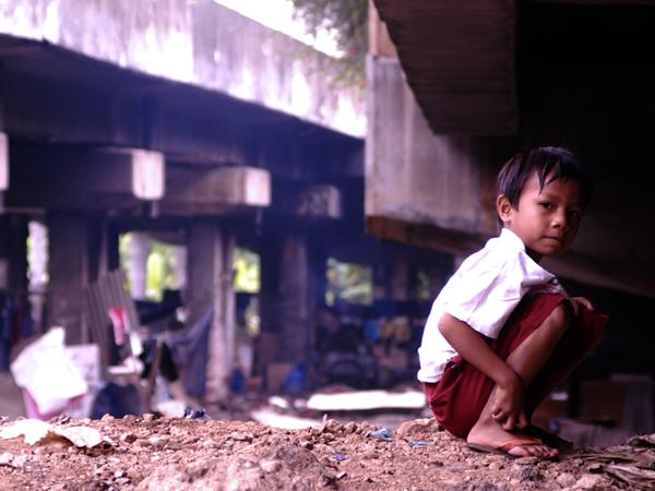 reality Indonesian children by adhitriputra