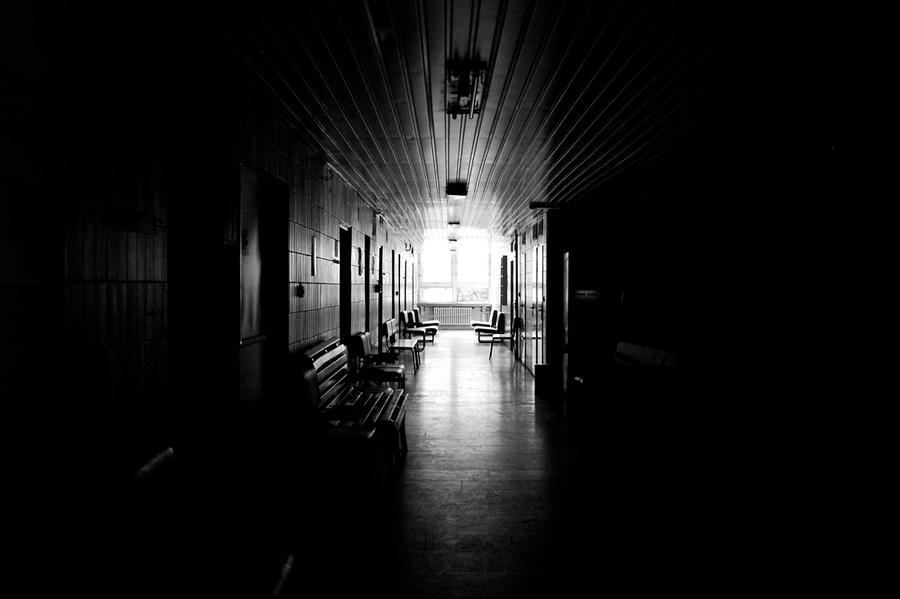 Dark corridor by blackychoice on deviantart - Wallpaper corridor ...