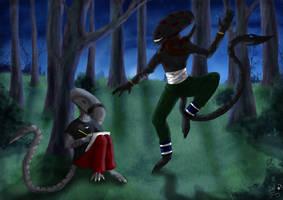 PC: Dancing in the moonlight by SheWolfey