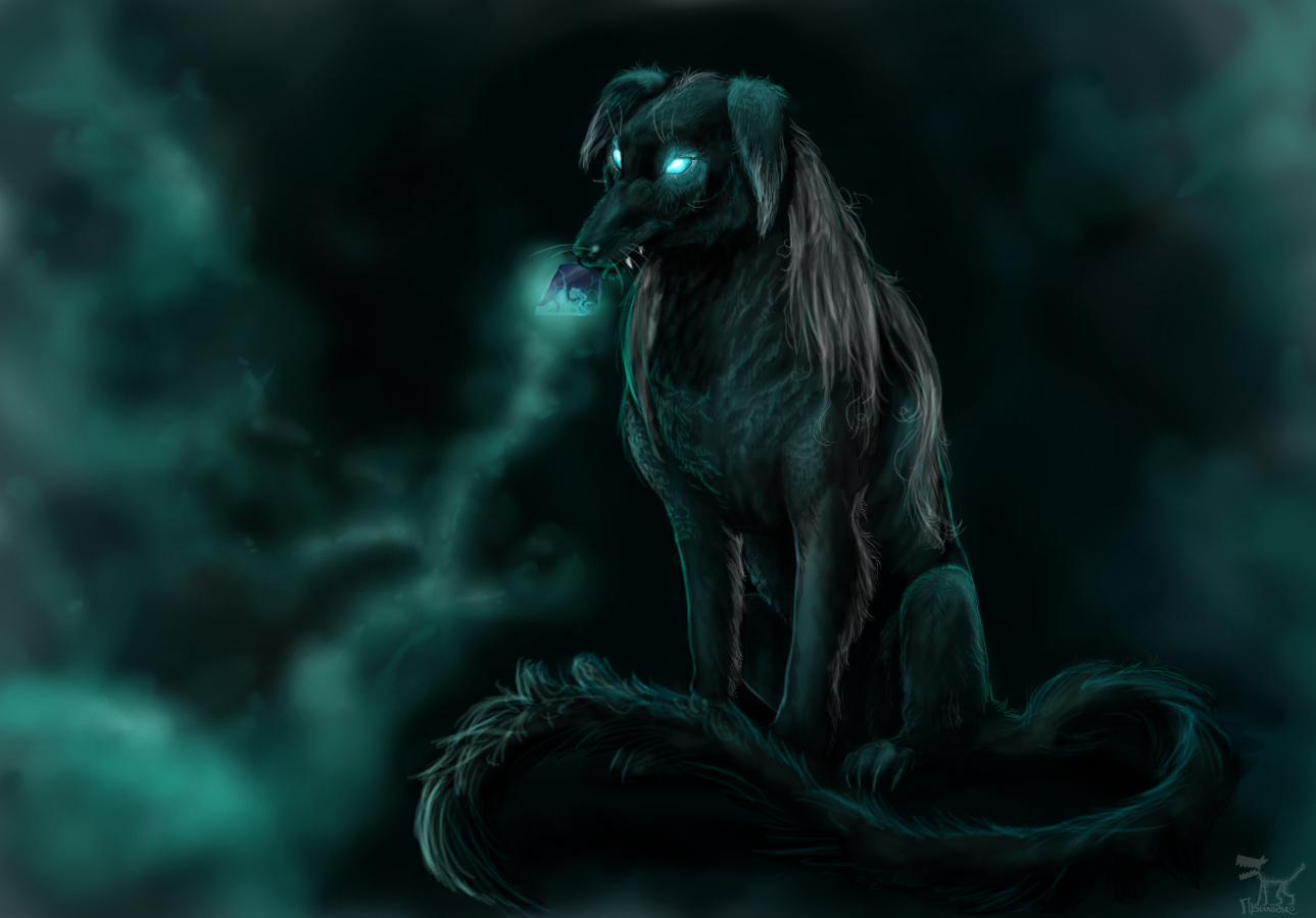 Black Dog by Shaggy-grim