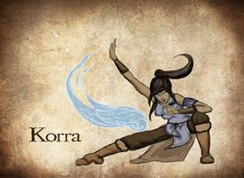 Avatar Korra by ZuTarart