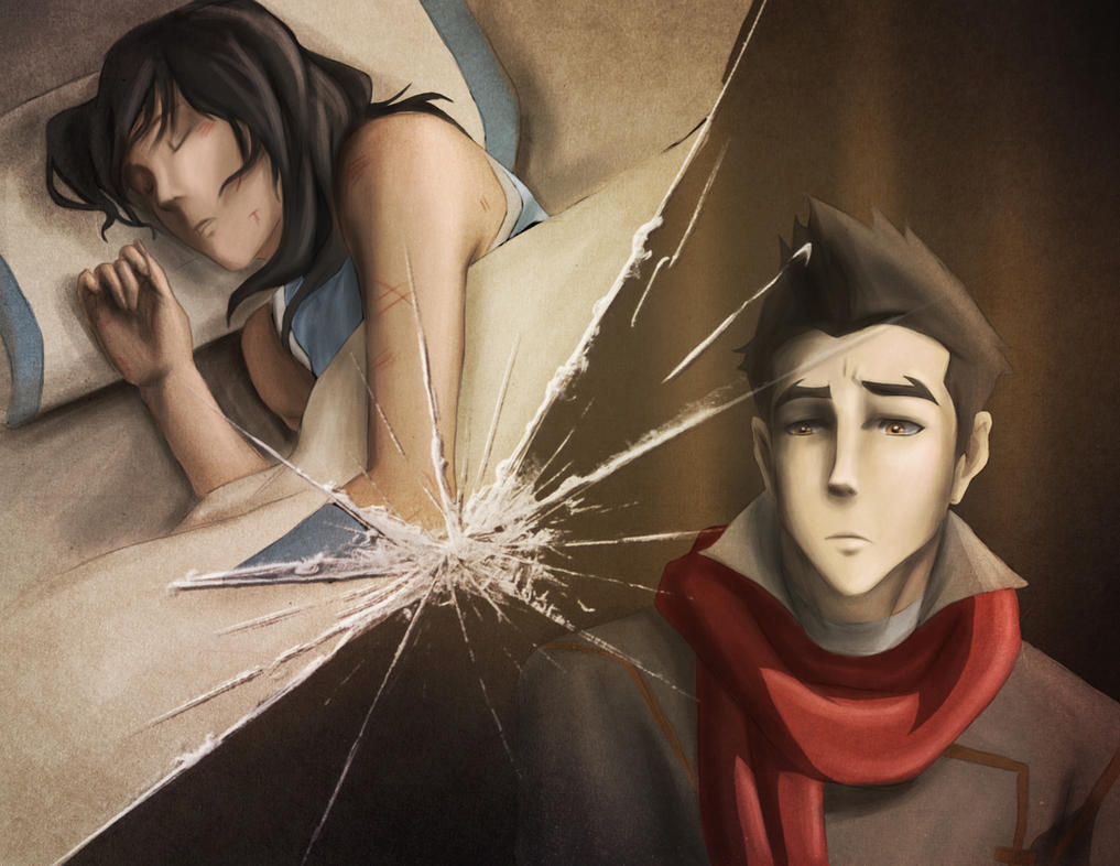 Makorra Week: Day 5: Damage by ZuTarart