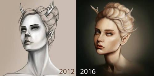 Draw it Again: Fawn