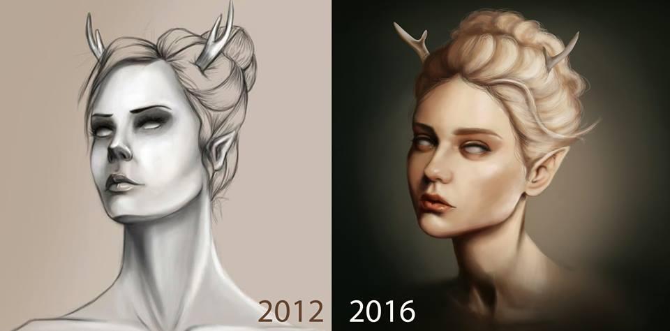 Draw it Again: Fawn by ZuTarart