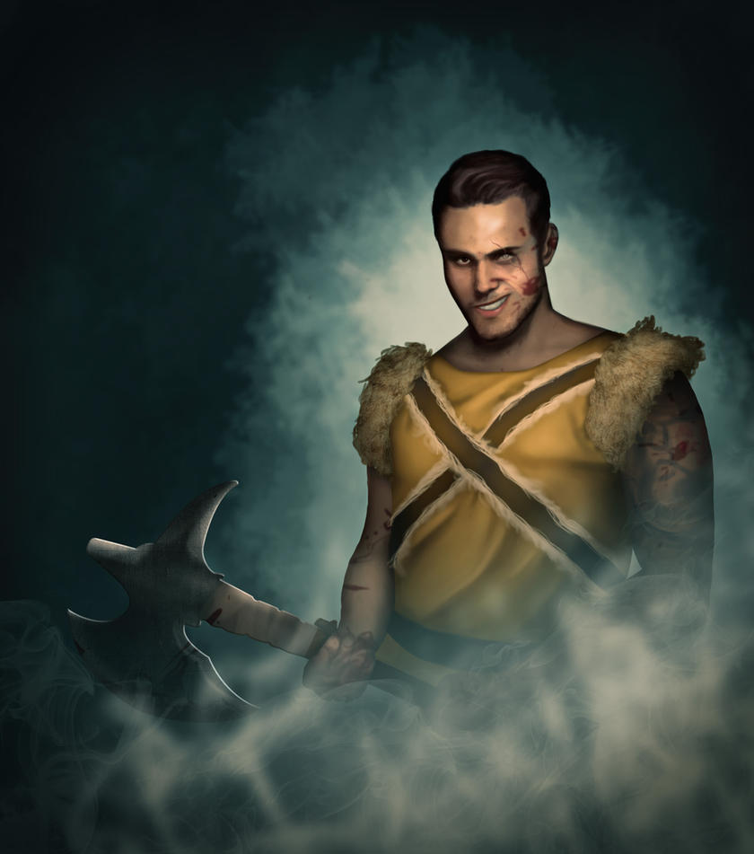 Barbarian by ZuTarart