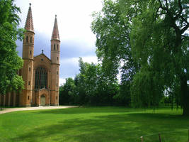 The old church in the park by Kiwi29