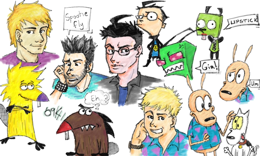 Nicktoons... ah memories by DBZMSI