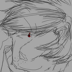 oC smirk doodle by qdd