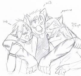 Group hug by qdd