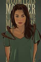 'Monster' Meg Myers by Aseo