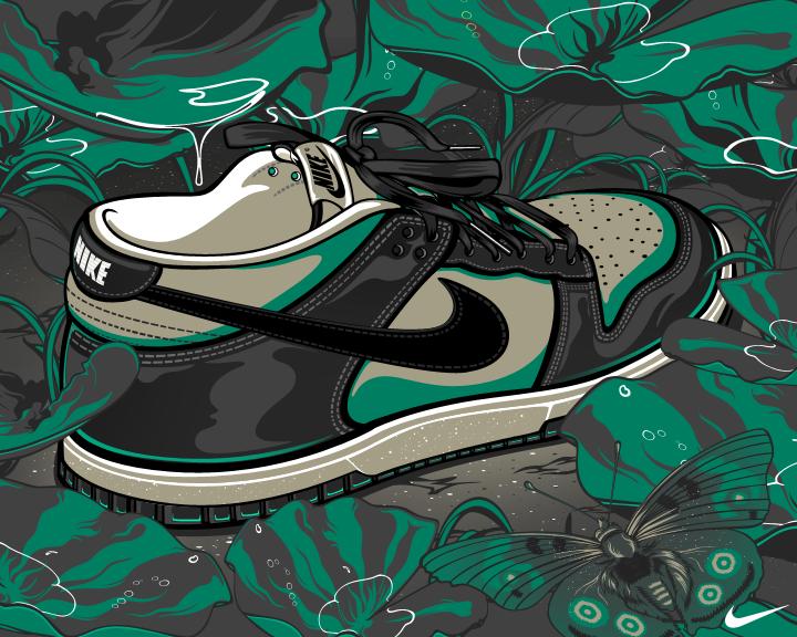 Backgrounds Nike Dunks