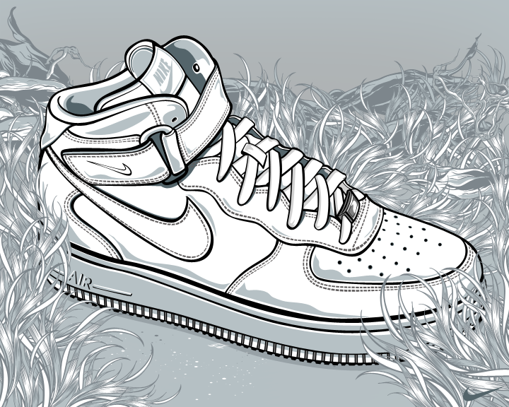 Nike Air force One by Aseo