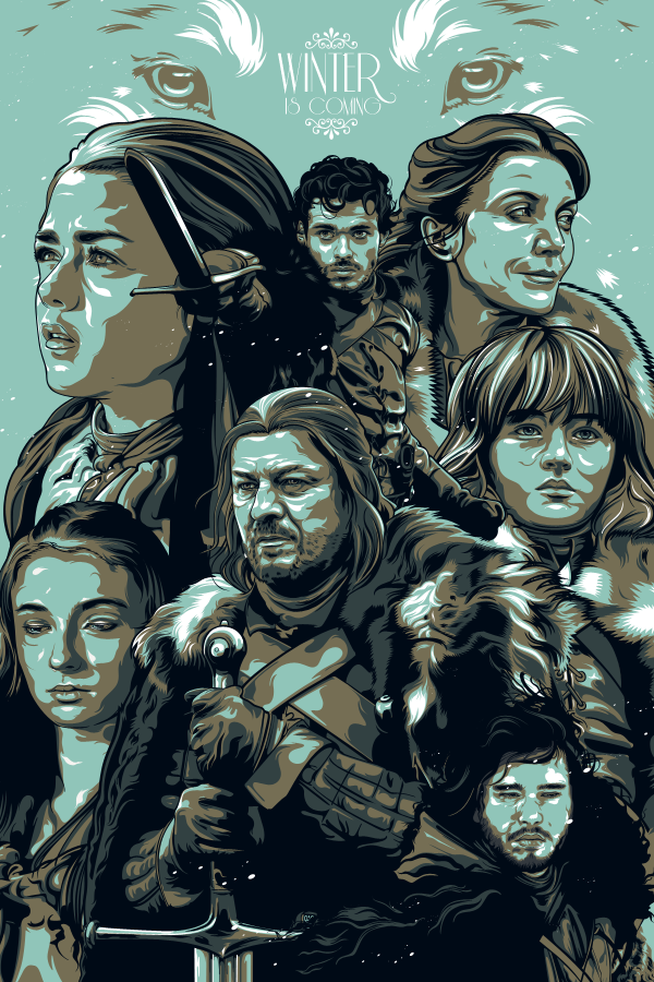 Lords of Winterfell by Aseo