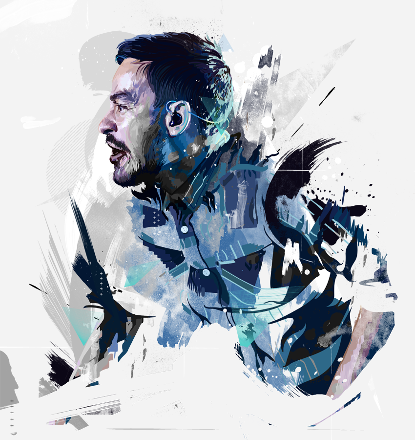 Mike Shinoda (Motion Grunge) by Aseo