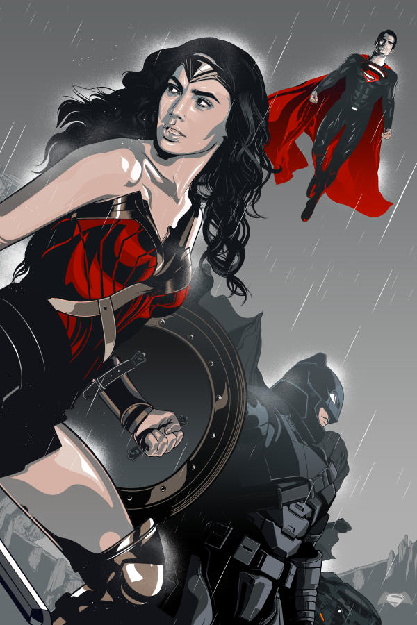 Batman V Superman by Aseo