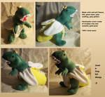 Plush - Bananasaurus Rex