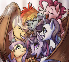 That's what friends are for by monere-lluvia