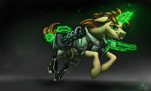 Heavy weapons mare
