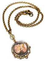Rose Fairy Necklace by JLHilton