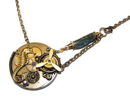 Steampunk Bathysphere Necklace by JLHilton