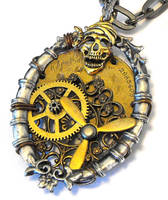 Steampunk Pirate Closeup by JLHilton
