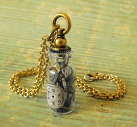 Steampunk Vial Necklace by JLHilton