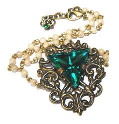 Vintage jewel necklace by JLHilton