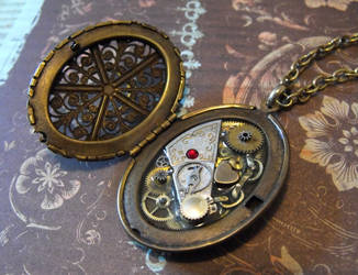 Clockwork Locket by JLHilton