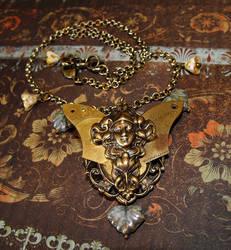 Clock fairy Necklace by JLHilton