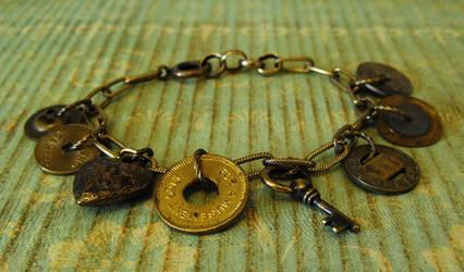 Token Treasures Charm Bracelet by JLHilton