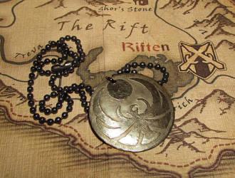 Skyrim Nightingale Pendant by JLHilton