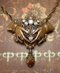 Steampunk Claddagh Pendant by JLHilton