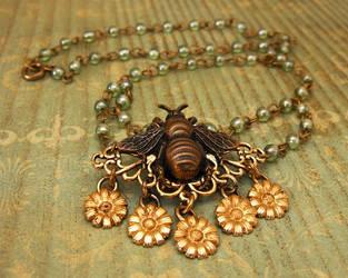 Honeybee Necklace by JLHilton