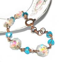 Chandelier Crystals Bracelet by JLHilton