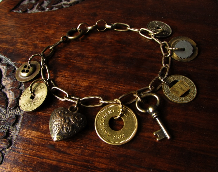 Token Treasures Charm Bracelet pic 2 by JLHilton