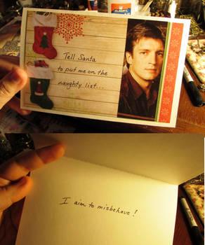 Browncoat holiday card
