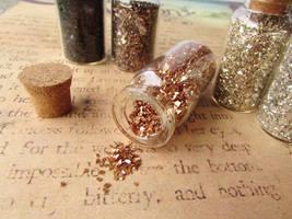 Spilled glitter by JLHilton