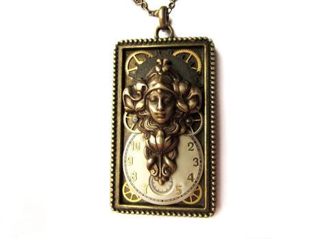 Clockwork Art Nouveau Angel
