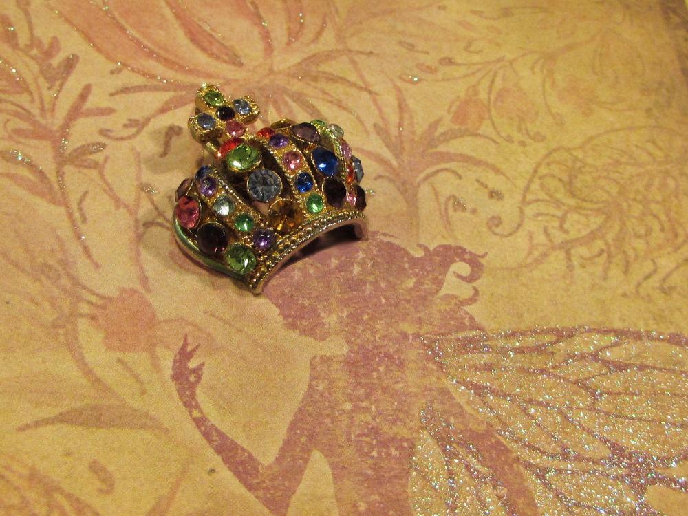 Rainbow fairy crown by JLHilton