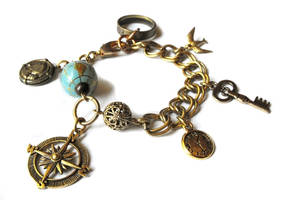 Time Traveler bracelet by JLHilton
