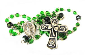 Saint Patrick Rosary by JLHilton
