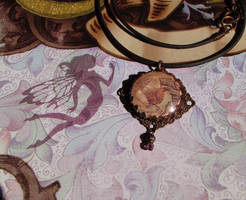 Victorian Fairy Pendant 2 by JLHilton