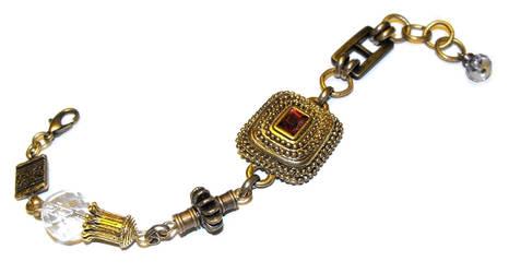 Steampunk style bracelet by JLHilton
