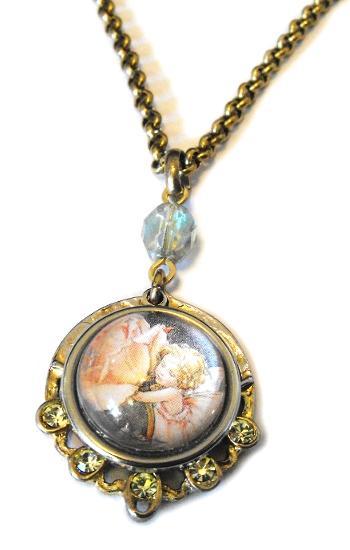 Rose Fairy Necklace 2 by JLHilton