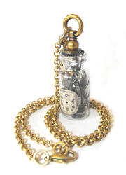 Steampunk Vial Necklace 2