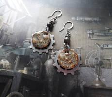Wasteland earrings