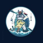 Princess Totoro Bathtime !