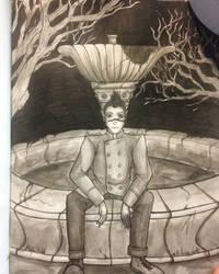 The werewolf loner : Arzhel (Chimere est fleur) by Aleyn-Kidd