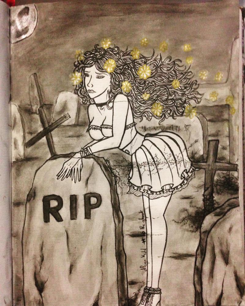 The Ghost (Chimere est fleur) by Aleyn-Kidd