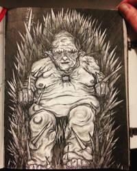 The goblin lord (Chimere est fleur) by Aleyn-Kidd